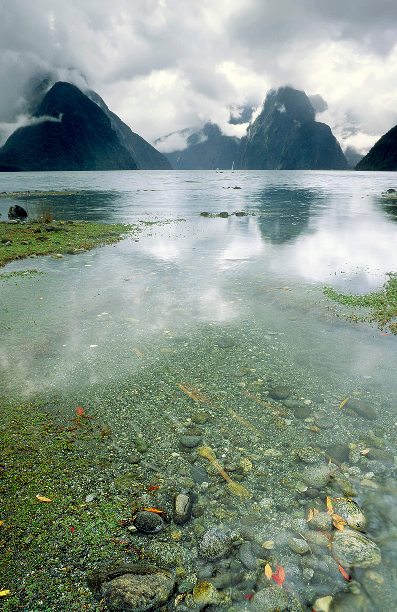 Milford Sound 8th wonder of the world, rainy day
