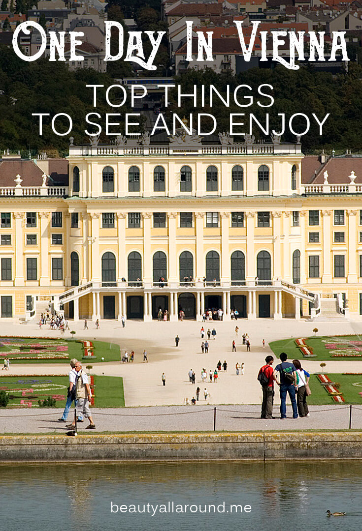 If you have only One Day In Vienna? What should you visit? Which are the most important and beautiful sights? #vienna #viennatravel #viennaphotography #viennaaustria